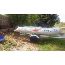 Надувная лодка Badger Fishing Line FL 360 AirDeck