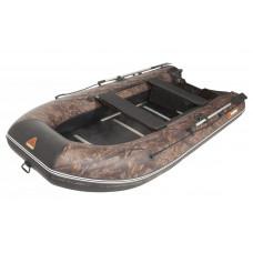 Лодка надувная 360TSE (AL) -в комплекте с алюминиевым пайлом КАМУФЛЯЖ