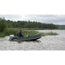 Лодка надувная YUKONA 410 TS - U (без пайола)  КАМУФЛЯЖ